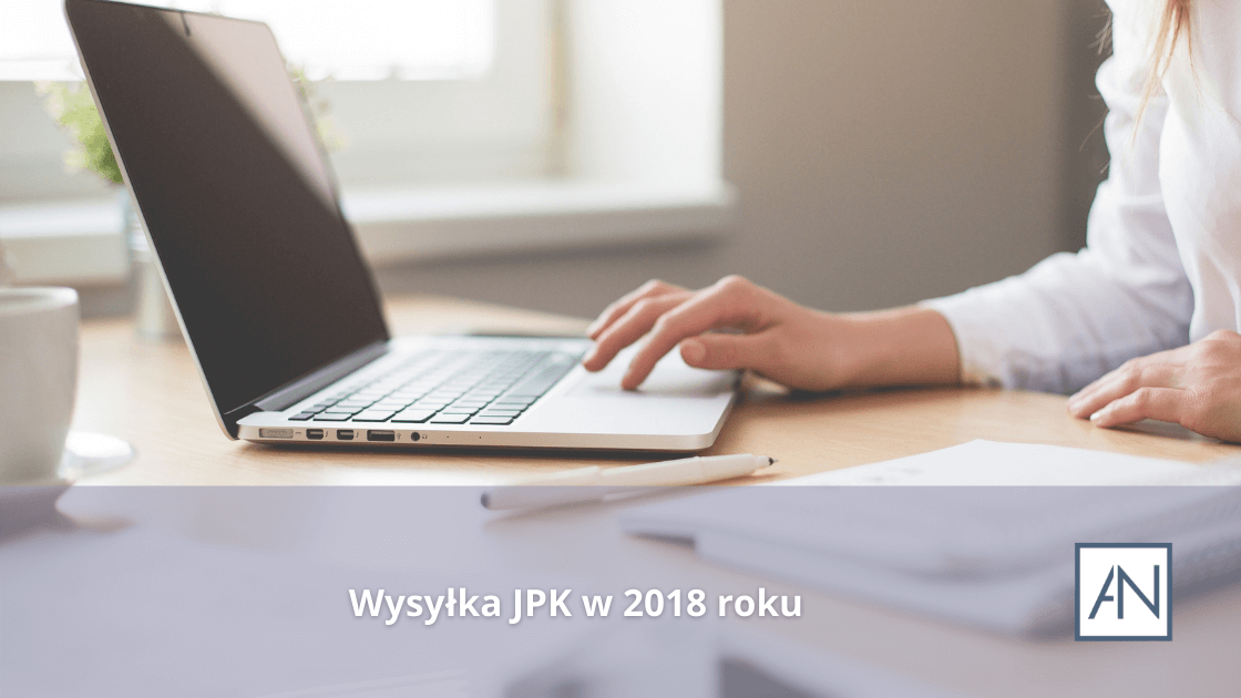 Wysyłka JPK w 2018 roku